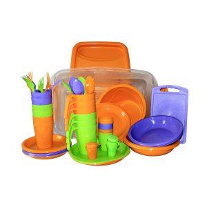 Набор посуды для пикника Следопыт